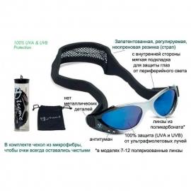 детские солнцезащитные очки Real Kids Shades от 7 до 12 лет 712XTRSLTBLUE