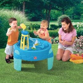 """Столик """"Водяная мельница"""" для игр с водой"""