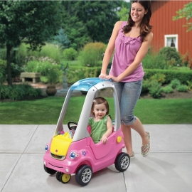 "Машинка ""Легкий поворот"" розовая"
