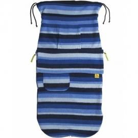 Флисовый конверт Buggysnuggle Blue Stripe Fleece