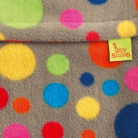 Флисовый конверт Buggysnuggle Bright Bubbles Fleece