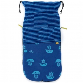 Хлопковый конверт Buggysnuggle BeachBugs Pirate Ship Jersey