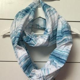 Муслиновый шарф для кормления Itzy Ritzy Blue Horizon