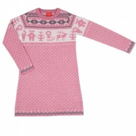 Платье розовое (размер 9-10 лет)
