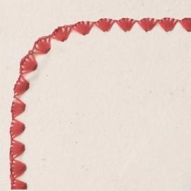 Фланелевая пеленка Organic Strawberry Edge
