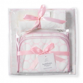 Подарочный набор для новорожденного Organic Gift Set Pstl Pink Mod IV