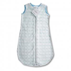 Детский спальный мешок SwaddleDesigns zzZipMe 6-12 М Pstl Blue Puff C