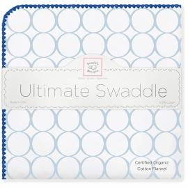 Фланелевая пеленка Organic IV w/Blue Mod C