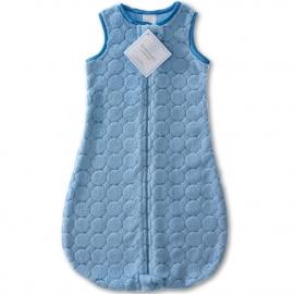 Детский спальный мешок SwaddleDesigns zzZipMe 12-18 М B Puff w/B Satin