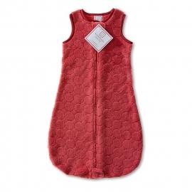 Детский спальный мешок SwaddleDesigns zzZipMe 3-6 М Red Puff Circle