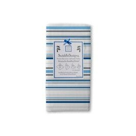 Пеленки детские тонкие SwaddleDesigns Jewel Tone Stripes