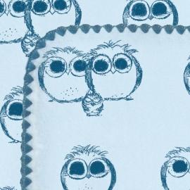 Фланелевая пеленка для новорожденного SwaddleDesigns TB Owls