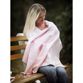 Фланелевая пеленка для новорожденного SwaddleDesigns SC/Sterling Lt Dot