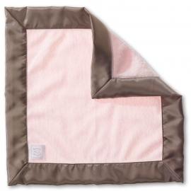 Платочек обнимашка Baby Lovie-плюшевая нежность Pstl Pink w/TG