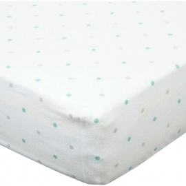 Простынь детская Fitted Crib Sheet SC & Sterling Dot