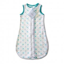 Детский спальный мешок SwaddleDesigns zzZipMe 3-6 М SC & Sterling Dot