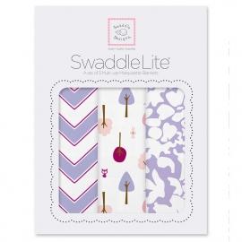 Набор пеленок SwaddleDesigns SwaddleLite Lavender Lite