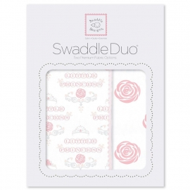 Набор пеленок SwaddleDesigns Swaddle Duo Rose Royal