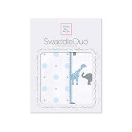 Наборы пеленок SwaddleDesigns Swaddle Duo Circus Fun