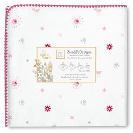 Пеленка фланель для новорожденного SwaddleDesigns Sun/Lamb PK SW