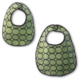 Комплект слюнявчиков Lime w/BR Mod C