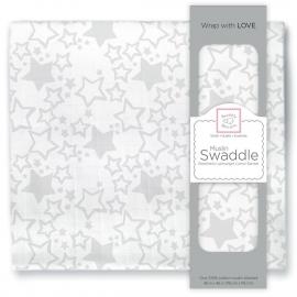 Пеленка муслиновая SwaddleDesigns Sterling Starshine