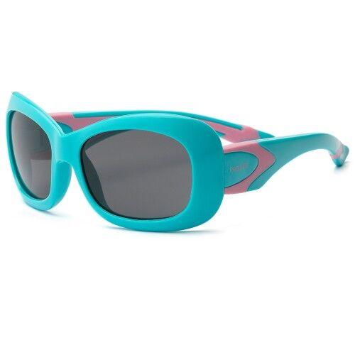 Детские солнцезащитные очки Real Kids Breeze 4+ аквамарин/розовый