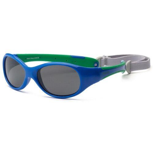 Детские солнцезащитные очки Real Kids Explorer 4+ синий/зеленый