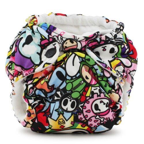 Многоразовый подгузник для новорожденного Lil Joey Kanga Care TokiJoy