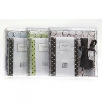 Подарочные наборы для новорожденных SwaddleDesigns Brown Mod Circles on Pastel