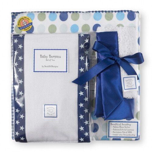 Подарочный набор для новорожденного Gift Set Navy Dots & Stars