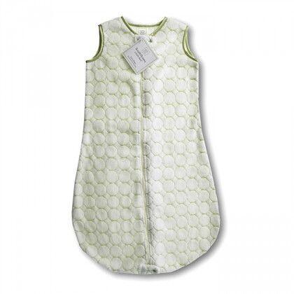 Детский спальный мешок SwaddleDesigns zzZipMe 6-12 М Kiwi Puff Circle