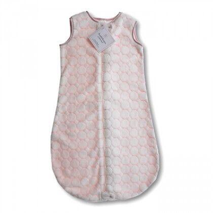 Детский спальный мешок SwaddleDesigns zzZipMe 6-12 М Pstl Pink Puff C