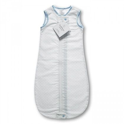 Спальный мешок для новорожденного SwaddleDesigns zzZipMe Sack 12-18M Flannel PB Polka Dots