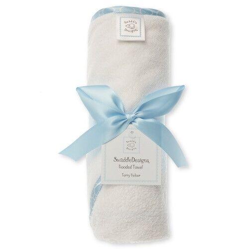 Полотенце с капюшоном Hooded Towel WH w/BL Mini Mod
