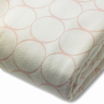 Простынь детская SwaddleDesigns Fitted Crib Sheet - Organic Pink Mod C on IV