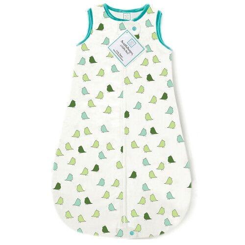 Спальный мешок для новорожденного SwaddleDesigns zzZipMe Sack Flannel TQ Lt Chickies
