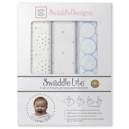 Наборы пеленок SwaddleDesigns SwaddleLite Sparklers