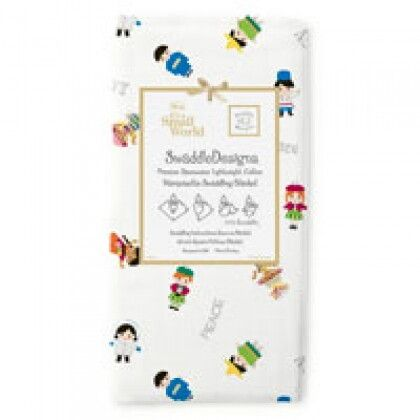 Пеленки детские тонкие SwaddleDesigns Peace Disney