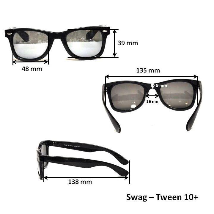 Очки для взрослых и подростков Swag черные купить в Emza.ru e42cca05337